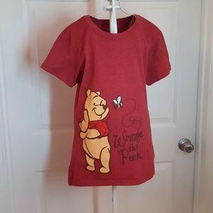 Disney Winnie the Pooh T-Shirt Sz Medium